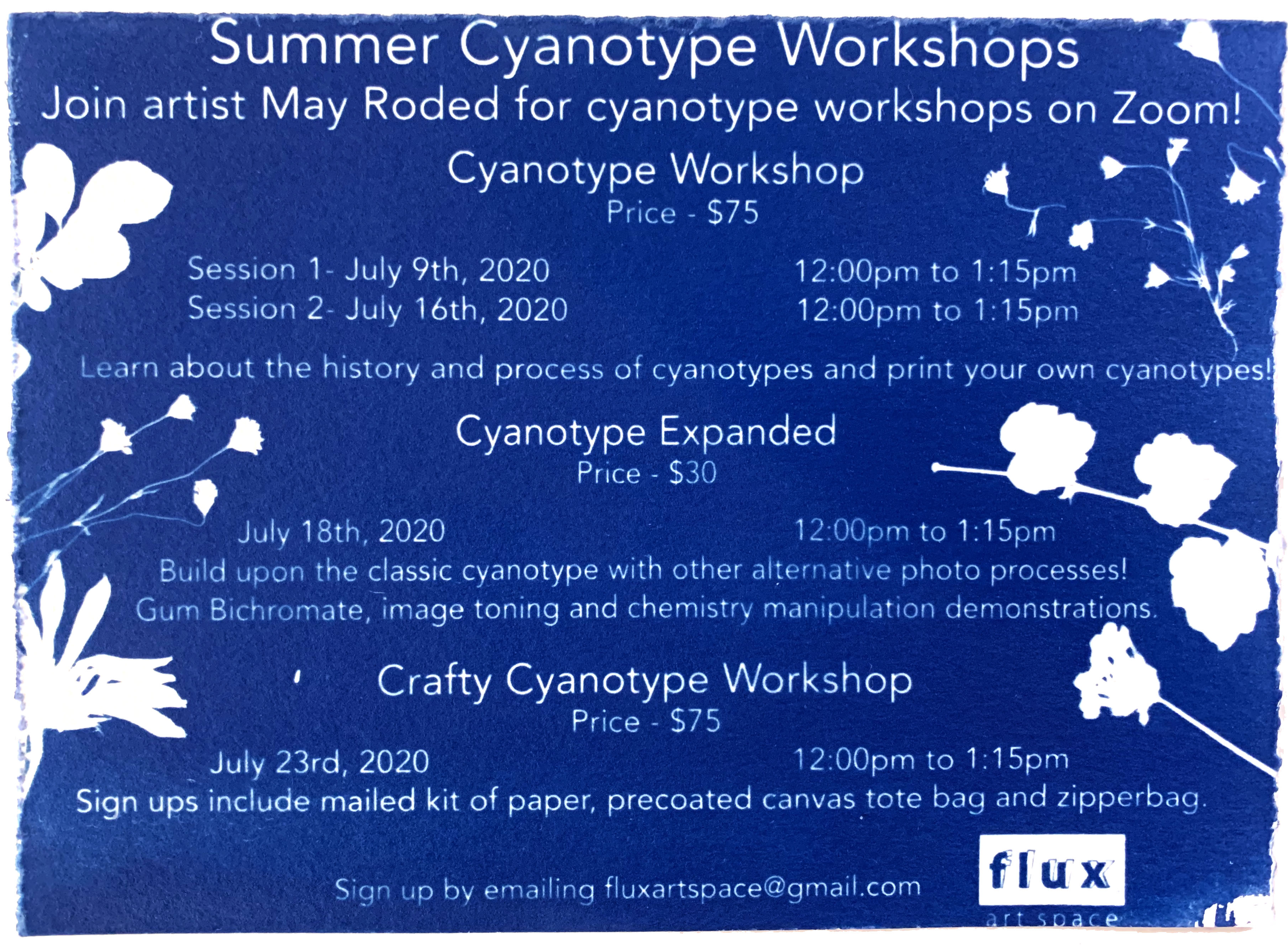 cyanotype-workshop-flux-flyer-summer-2020
